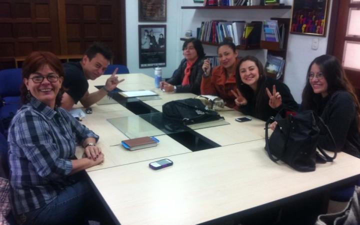 Reunión de monitoreo y trabajo por comisiones, proyectos de la RCPVG.