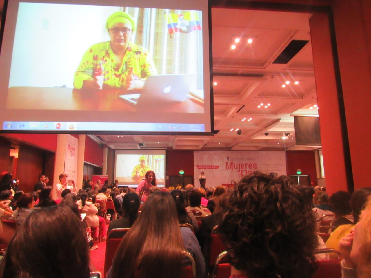 Intervención de Victoria Sandino, ex integrante de la Subcomisión de Género de la Mesa de Negociaciones (FARC-EP)